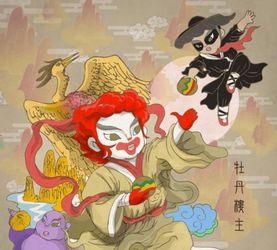 当西方的食物遇到了东方的文化 香港艺术家Tik Ka的插画作品