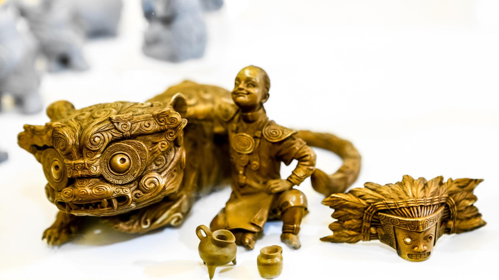 《神人兽面纹之好伙伴》 在上海WF展会展出