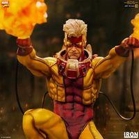 Iron Studios Marvel comic 烟火乔尼Pyro Johnny 1/10雕像前瞻