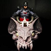 麦克法兰 闪点蝙蝠侠&死亡金属蝙蝠摩托