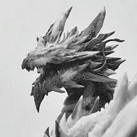 墨玉钢翅(龙),原创雕塑白模预定