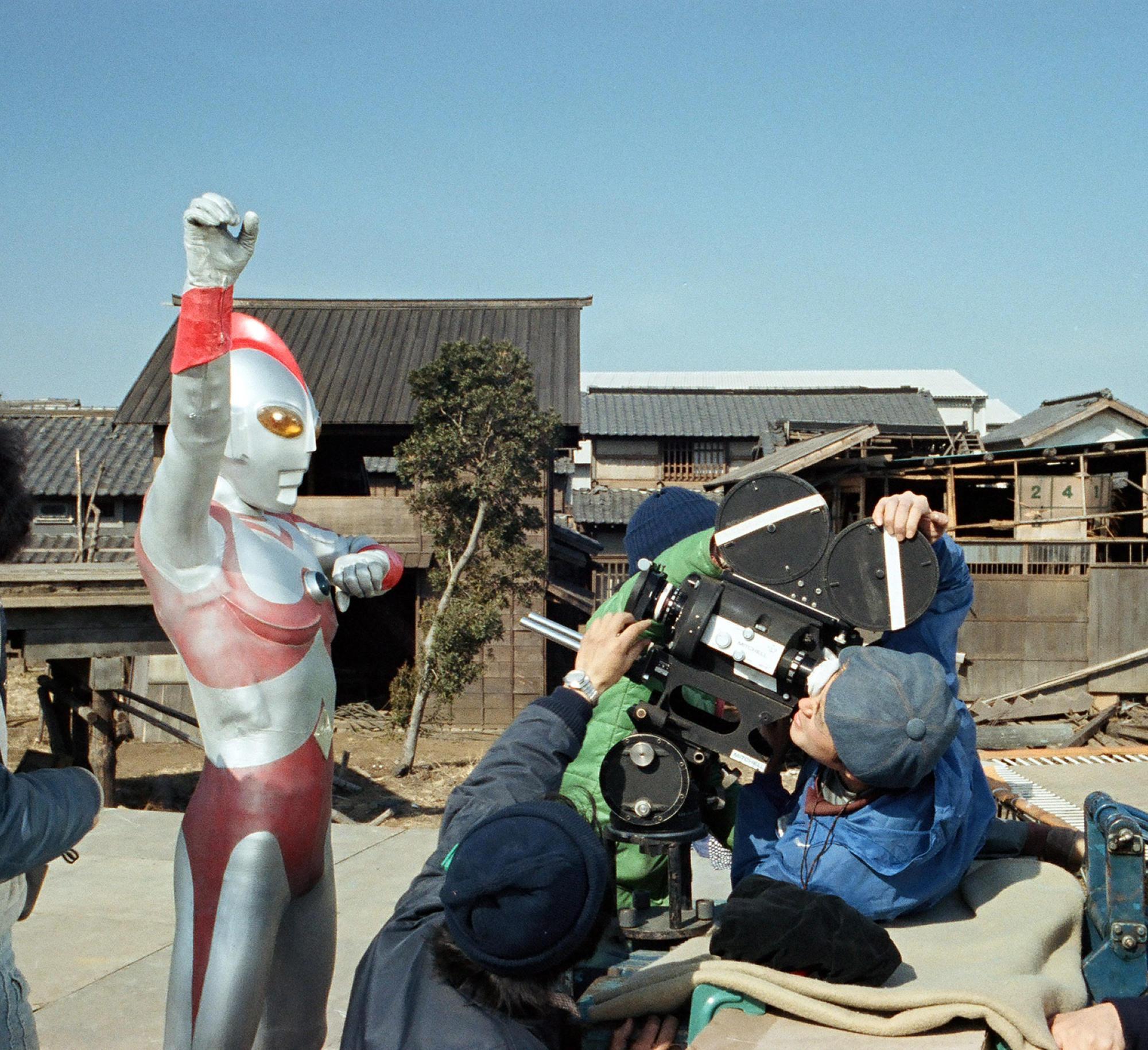 1980年ウルトラマン80撮影時代
