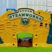 托马斯和他的朋友们 托马斯小火车制造工厂玩具分享