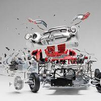 Fabian Oefner设计的爆炸汽车