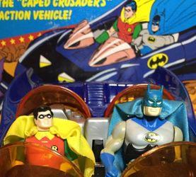 kenner 1984 super powers 蝙蝠侠、罗宾、蝙蝠车视频测评