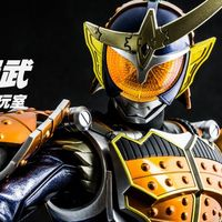 12寸橙子铠甲! RAH 收藏级 假面骑士铠武 真人皮套模型 评测【木子模玩室】