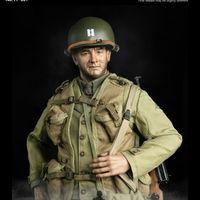 脸谱模玩 WWII US RANGER 二战美军游骑兵上尉 12寸兵人 前瞻