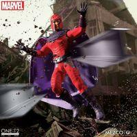 MEZCO One:12 Marvel Comics 万磁王Magneto 1/12人偶前瞻
