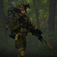 Easy&Simple 美国陆军特种部队 狙击手 热带版 12寸兵人前瞻