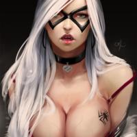 寿屋 山下美少女Bishoujo Marvel 黑猫Black Cat 1/7人像 前瞻