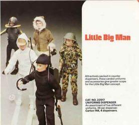 70年代 英国Palitoy公司放弃了GIJOE而开发的Little Big Man系列人偶介绍