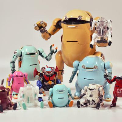 玩具收藏...
