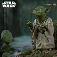 Iron Studios 星球大战 帝国反击战 尤达大师 1/4场景雕像 前瞻
