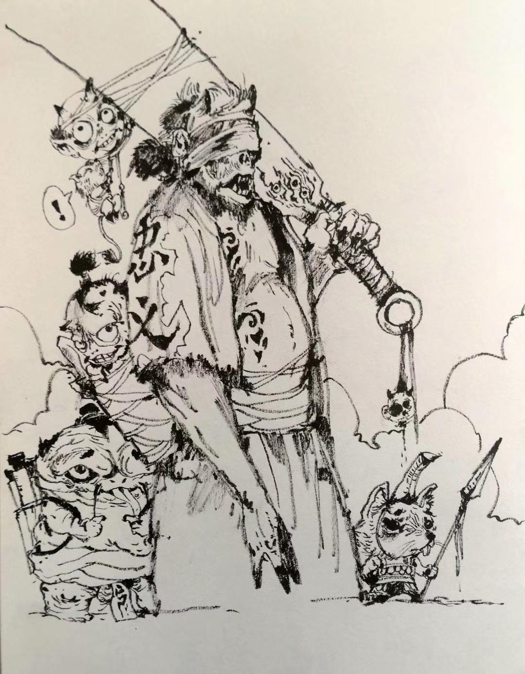 老孙的手绘