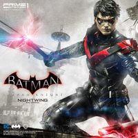 Prime 1 Studio 蝙蝠侠 阿甘骑士 夜翼Nightwing 1/3 雕像前瞻