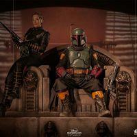 Iron Studios 曼达洛人 波巴菲特&芬内克·尚德 1/10雕像 前瞻