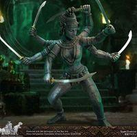 X-Plus 哈利豪森百年纪念 辛巴达奇航记 迦梨KALI 雕像前瞻
