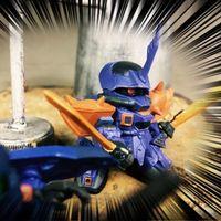 高达扭蛋战士FORTE04蓝色颤栗点评