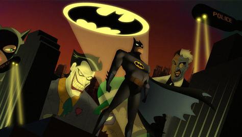 DCC动画系列蝙蝠侠 表情(配件包)
