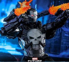 惩罚装甲 HOTTOYS 未来之战 钢铁惩罚者Punisher 12寸人偶 前瞻