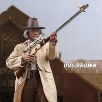 Hottoys MMS617 回到未来3 布朗博士/ Dr. Brown 12寸人偶前瞻
