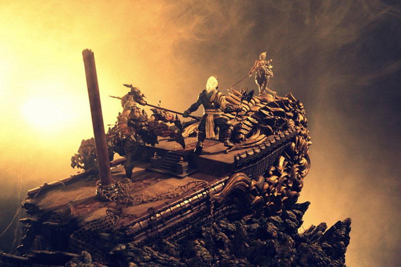 腾讯游戏 • 斗战神-《银河战舰》