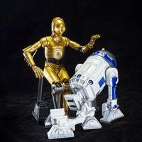 海洋堂REVOLTECH星球大战系列c-3PO+R2-D2--好基友一辈子