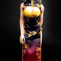 天艺美 中国风 性感幻想旗袍 12寸女人偶COS套装 前瞻
