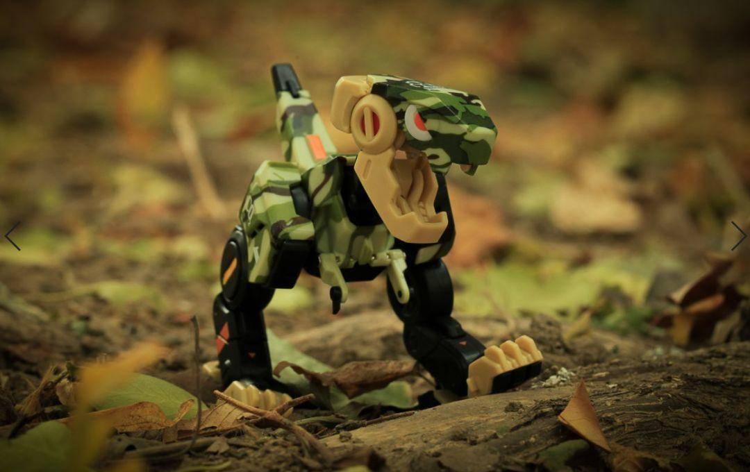 Mountain Toys X 52TOYS 联名版 小恐龙狄奥DIO 丛林