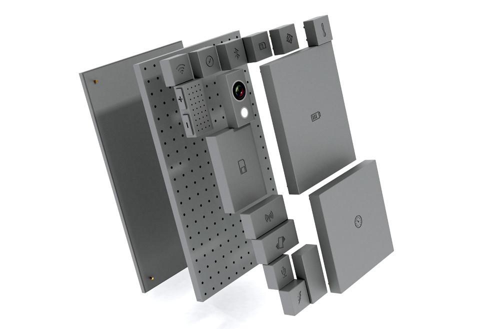 模块化手机概念图,来自网络