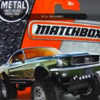 火柴盒 福特 野马改装车 Custom `68 MustangMudstanger