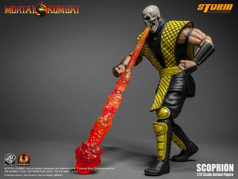 魔宫帝国_Storm Collectibles 真人快打 1/12系列 Scorpion 介绍-52TOYS有品有趣