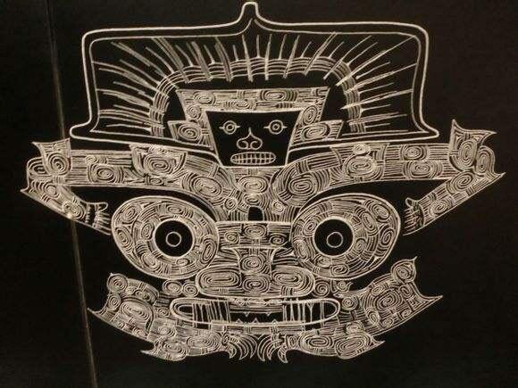 良渚文明 神人兽面纹 纹饰
