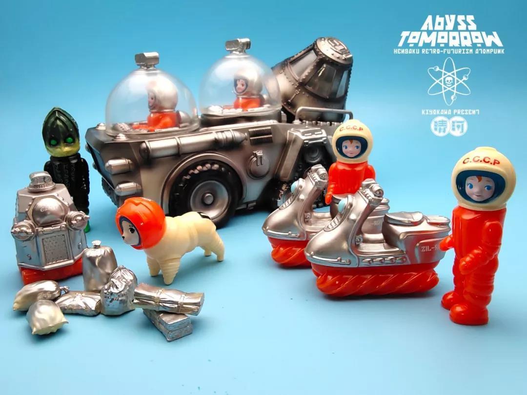 水牛运输车,卫星,火箭,会在之后作单品发售