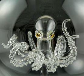 制作不同寻常的玻璃雕塑的艺术家——Kiva Ford