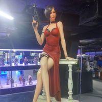 王阿姨实物在北京西单华威展出中~有一种腿,叫王姨腿