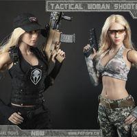 Fire Girl Toys 战术女枪手火系列 12寸女人偶套装 前瞻