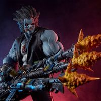 Sideshow Collectibles DC Comics – 罗伯Lobo 场景雕像 前瞻