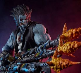 Sideshow Collectibles DC Comics – 羅伯Lobo 場景雕像 前瞻