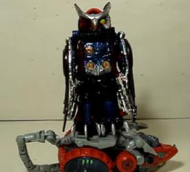 TF—圣贤的变形金刚玩具 151,BW系列金属变体暗黑版猫头鹰