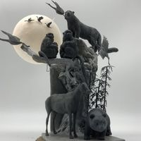 #动物狂欢节#完稿:AC0387 《在中国》