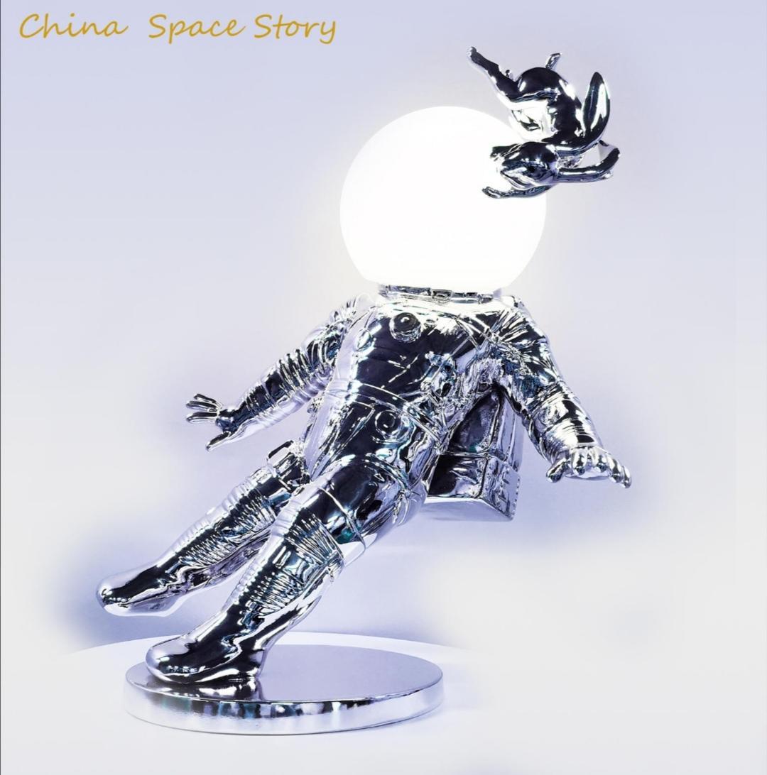 中国人的星空故事---太空兔灯 高42厘米