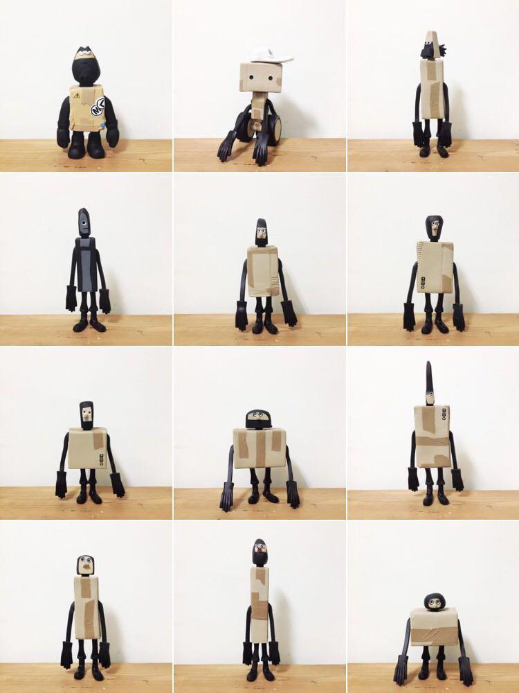 jingdwang收藏的Michael Lau玩具