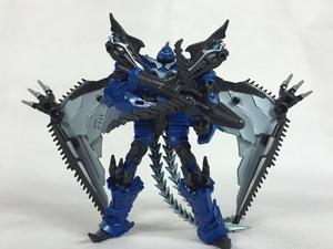 变4机器恐龙-飞镖!