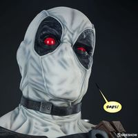 Sideshow Marvel Comics 死侍Deadpool X-Force 1/1半胸像