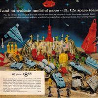 从广告海报看玩具变迁:1960s(上)