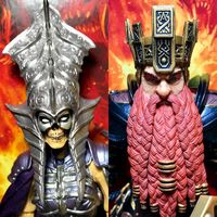 【老鐵玩具分享】四騎士神話軍團2.0腐潮 骷髏女王+矮人王
