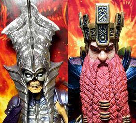 【老鐵玩具分享】四骑士神话军团2.0腐潮 骷髅女王+矮人王
