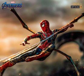 Iron Studios 复仇者联盟 终局之战 钢铁蜘蛛侠 1/10雕像 前瞻