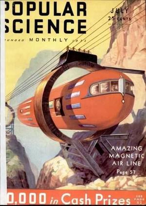 Popular Science Monthly更多的封绘
